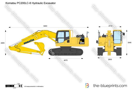 Komatsu PC200LC-8 Hydraulic Excavator