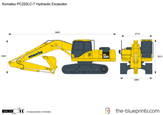 Komatsu PC220LC-7 Hydraulic Excavator