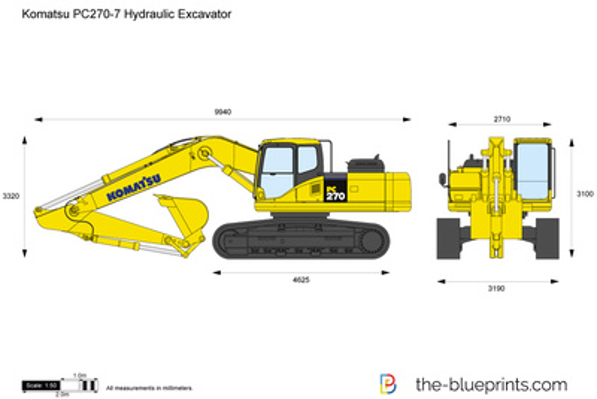 Komatsu PC270-7 Hydraulic Excavator