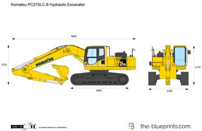 Komatsu PC270LC-8 Hydraulic Excavator