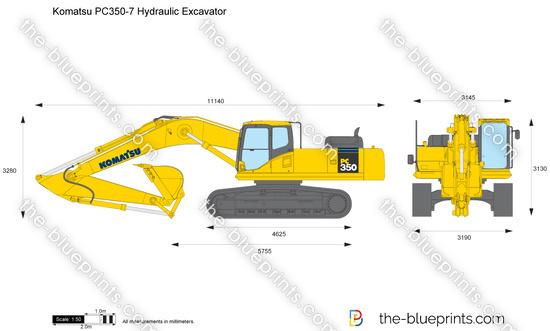 Komatsu PC350-7 Hydraulic Excavator