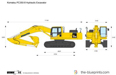 Komatsu PC350-8 Hydraulic Excavator
