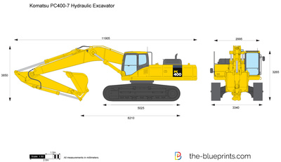 Komatsu PC400-7 Hydraulic Excavator