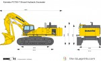 Komatsu PC750-7 Shovel Hydraulic Excavator