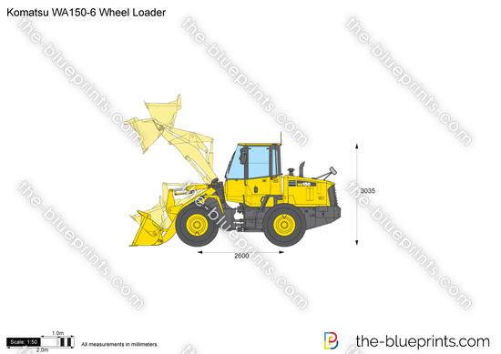 Komatsu WA150-6 Wheel Loader