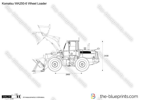Komatsu WA250-6 Wheel Loader