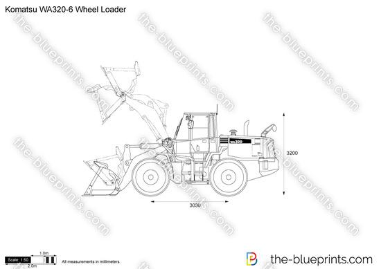 Komatsu WA320-6 Wheel Loader