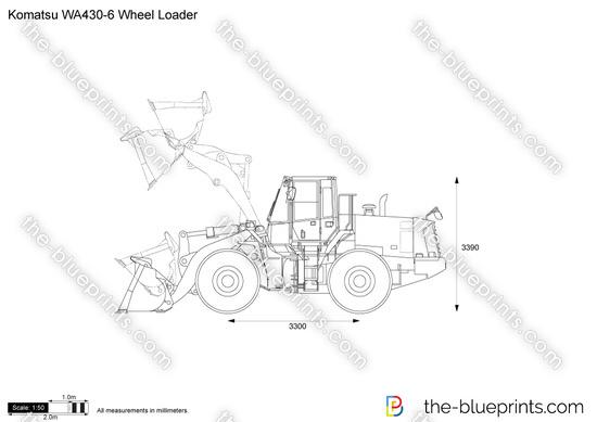 Komatsu WA430-6 Wheel Loader