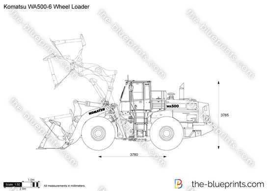 Komatsu WA500-6 Wheel Loader
