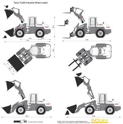 Terex TL260 Industrial Wheel Loader