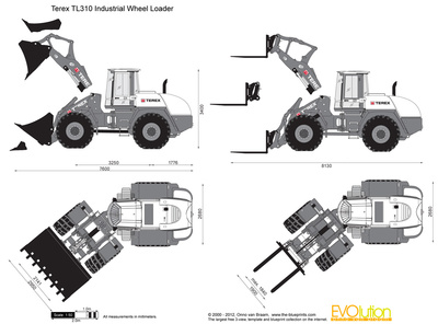 Terex TL310 Industrial Wheel Loader