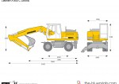 Liebherr A 900 C Litronic Wheeled Excavator