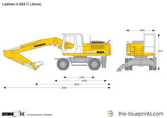 Liebherr A 924 C Litronic Wheeled Excavator