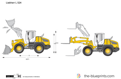 Liebherr L 524 Wheel Loader