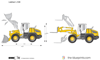 Liebherr L 538 Wheel Loader