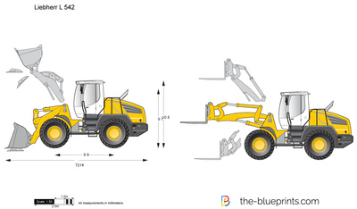 Liebherr L 542 Wheel Loader