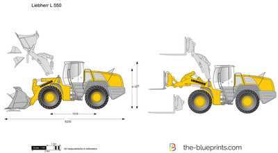 Liebherr L 550 Wheel Loader