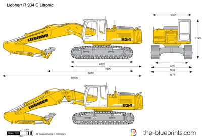 Liebherr R 934 C Litronic Excavator