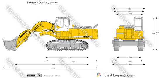 Liebherr R 964 S-HD Litronic Excavator