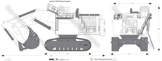 Liebherr R 9800 Mining Excavator