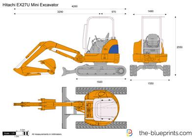 Hitachi EX27U Mini Excavator