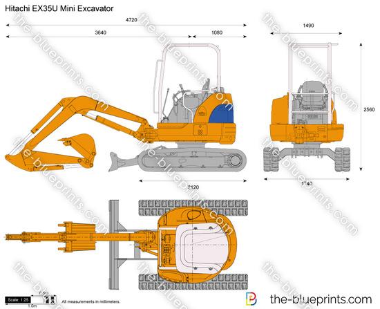 Hitachi EX35U Mini Excavator