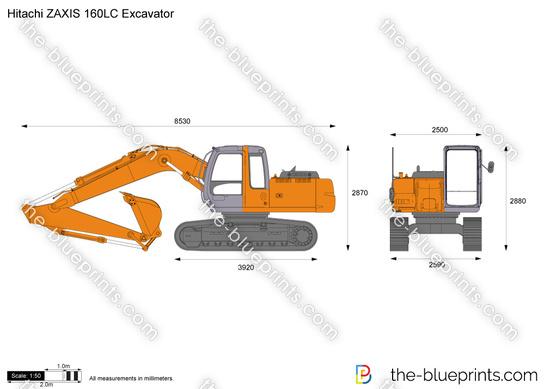 Hitachi ZAXIS 160LC Excavator