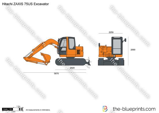 Hitachi ZAXIS 75US Excavator
