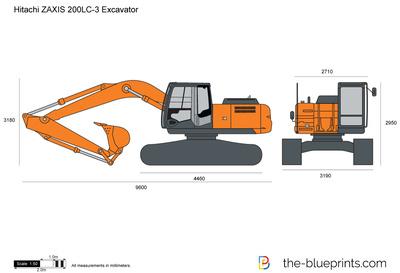 Hitachi ZAXIS 200LC-3 Excavator