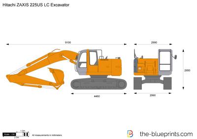 Hitachi ZAXIS 225US LC Excavator