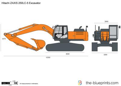 Hitachi ZAXIS 250LC-5 Excavator