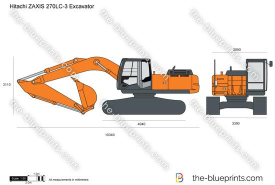 Hitachi ZAXIS 270LC-3 Excavator