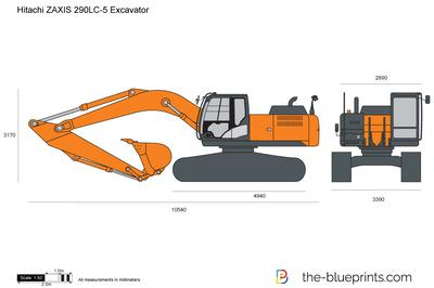 Hitachi ZAXIS 290LC-5 Excavator