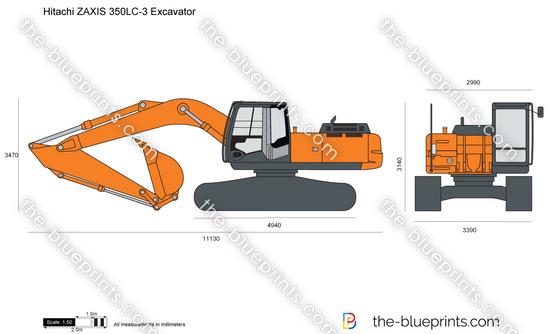 Hitachi ZAXIS 350LC-3 Excavator