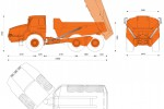 Doosan DA40 Articulated Truck