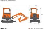 Doosan DX35z Hydraulic Excavator