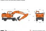 Doosan DX190W One-Piece Boom Hydraulic Excavator