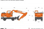 Doosan DX190W Two-Piece Boom Hydraulic Excavator