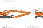 Doosan DX225SLR Hydraulic Excavator