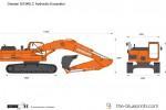 Doosan DX340LC Hydraulic Excavator