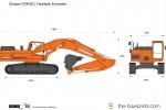 Doosan DX420LC Hydraulic Excavator