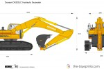 Doosan DX520LC Hydraulic Excavator