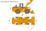 Doosan Mega 250V Wheeled Excavator