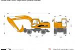 Doosan Solar 180WV Single Boom Hydraulic Excavator
