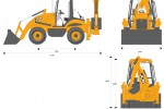 JCB 2CX12 Backhoe Loader