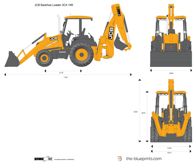 JCB 3CX 14ft Backhoe Loader