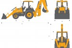 JCB 3CX 15ft Backhoe Loader