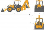 JCB 4CX 14ft Backhoe Loader