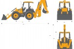 JCB 4CX 15ft Backhoe Loader