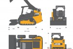 JCB 150T 190T 205T Compact Track Loader